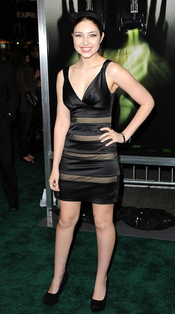 The Green Hornet LA Premiere 2011 Shelby Young