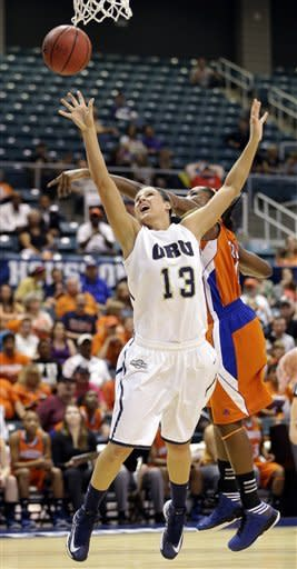 Oral Roberts women beat SHSU 72-66, win Southland