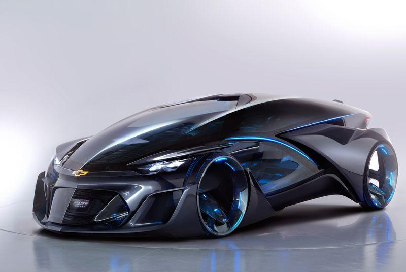 The Chevrolet FNR concept is impossible to describe — seriously, just look at it