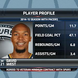 Gottlieb: David West agrees to sign with Spurs