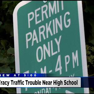 Tracy Residents Happy With Parking Permit Restrictions Near High School