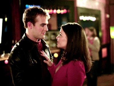 James Van Der Beek and Meredith Salenger WB's Dawson's Creek