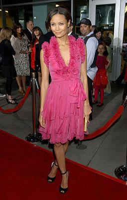 Thandie Newton at the Los Angeles premiere of Picturehouse's Run, Fat Boy, Run