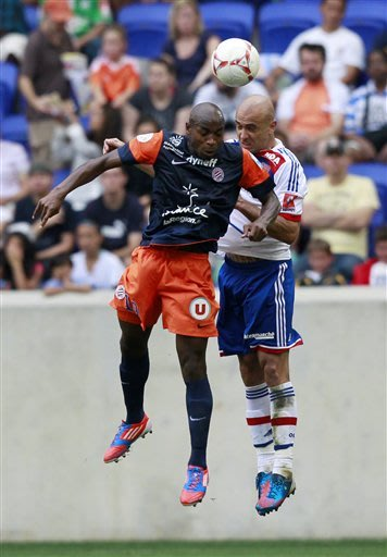 Briand leads Lyon past Montpellier in shootout