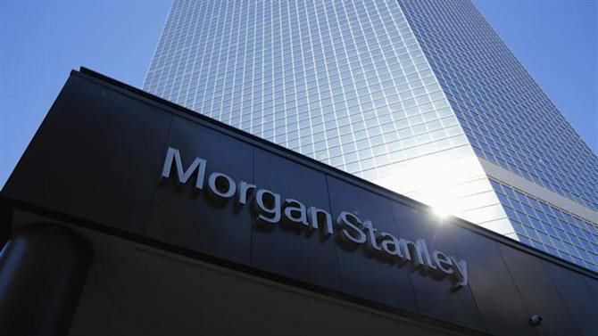The corporate logo of financial firm Morgan Stanley is pictured on a building in San Diego, California September 24, 2013. REUTERS/Mike Blake/Files