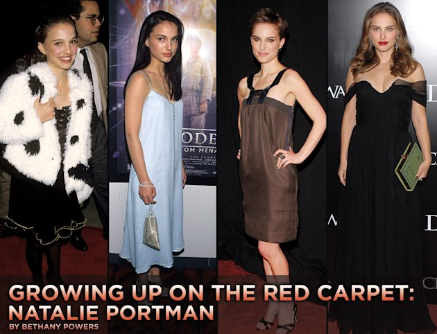 Growing up on the red carpet Natalie Portman titlecard 2010
