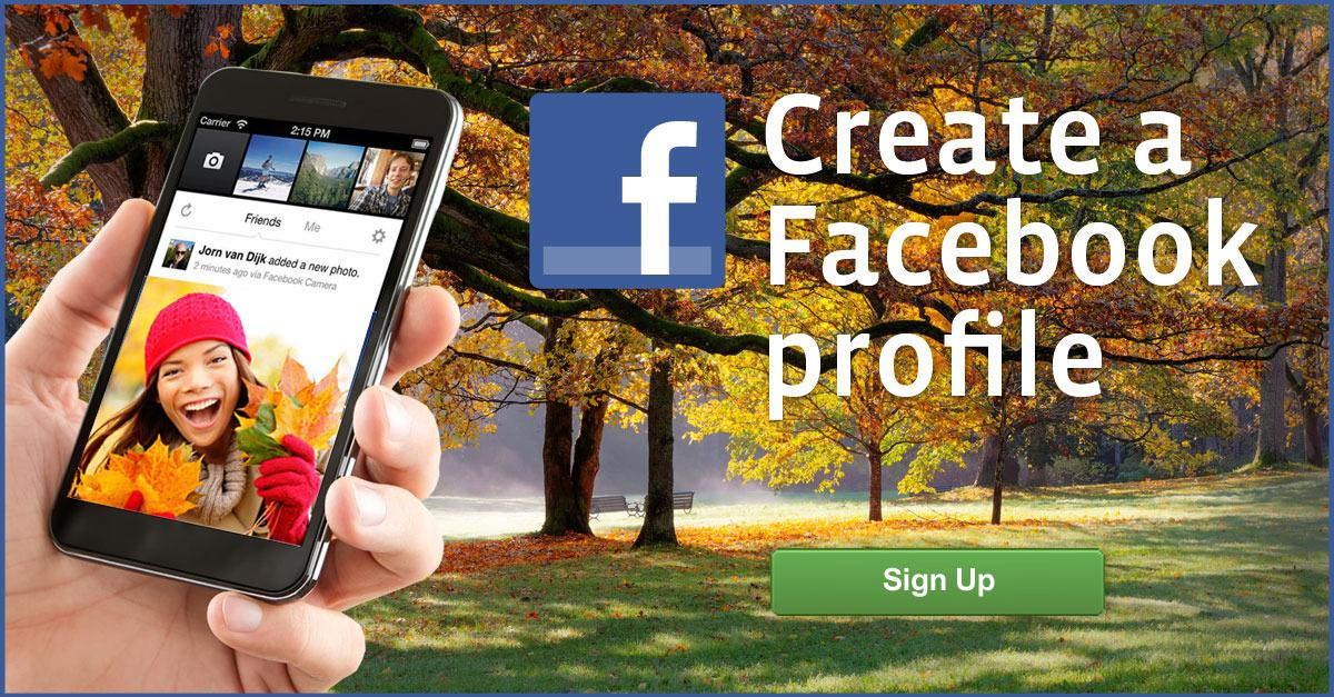 Facebook® Account Sign Up. Join for Free Today!