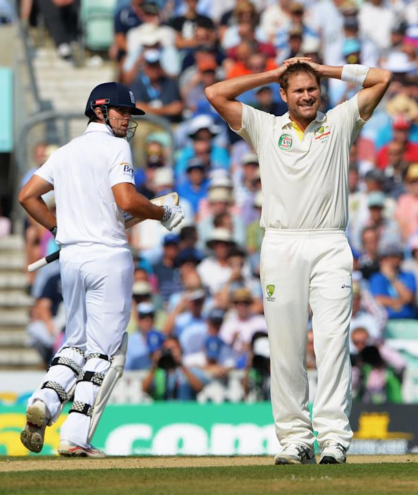 England v Australia: 5th Investec Ashes Test - Day Three