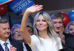 Poland's leading left-wing candidate for president …