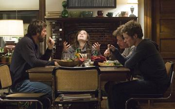 Dennis Quaid , Ellen Page , Thomas Haden Church and Ashton Holmes in Miramax Films' Smart People
