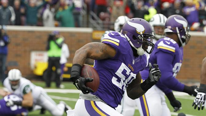 Vikings race past Harvin, Jets 30-24 in overtime