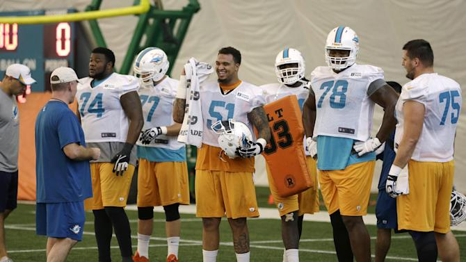 Scandal could be rallying point for Dolphins
