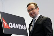 Australian flag carrier Qantas said on Tuesday it will split its international and domestic arms into separate businesses as part of its plan to transform the airline. Group chief Alan Joyce (pictured on May 21) remains in overall charge and said the transformation would strengthen the airline and help it deliver its strategic goals