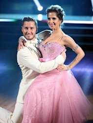 Val Chmerkovskiy and Kelly Monaco perform during Week 2 of &#39;Dancing with the Stars: All-Stars,&#39; Oct. 1, 2012 -- ABC