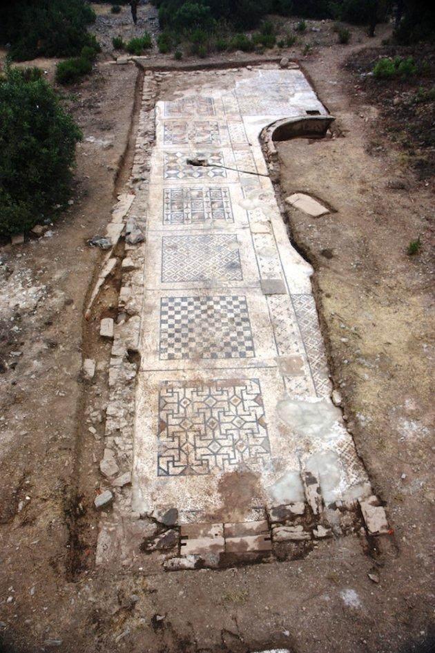 mozaik romawi