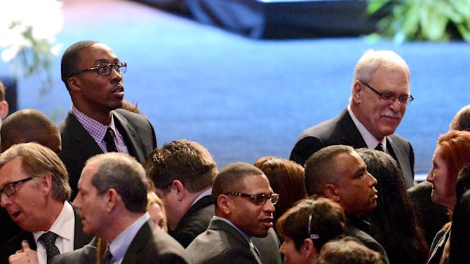 NBA: Memorial Service for Dr. Jerry Buss