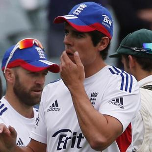There were some tough moments: Cook