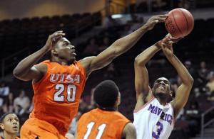 Texas-Arlington tops UTSA 69-53 to reach WAC final