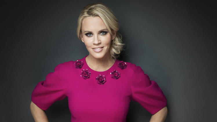"This Feb. 4, 2013 photo shows American comedian, actress, and author Jenny McCarthy posing for a portrait, in New York.  McCarthy is host of ""The Jenny McCarthy Show,"" debuting Friday, Feb. 8, on VH1. (Photo by Victoria Will/Invision/AP)"