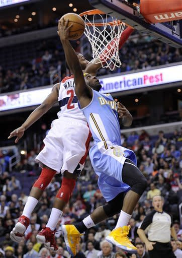 Rough times for Beal; Wizards top Nuggets 119-113
