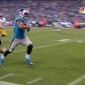 Carolina Panthers tight end Greg Olsen 37-yard TD reception