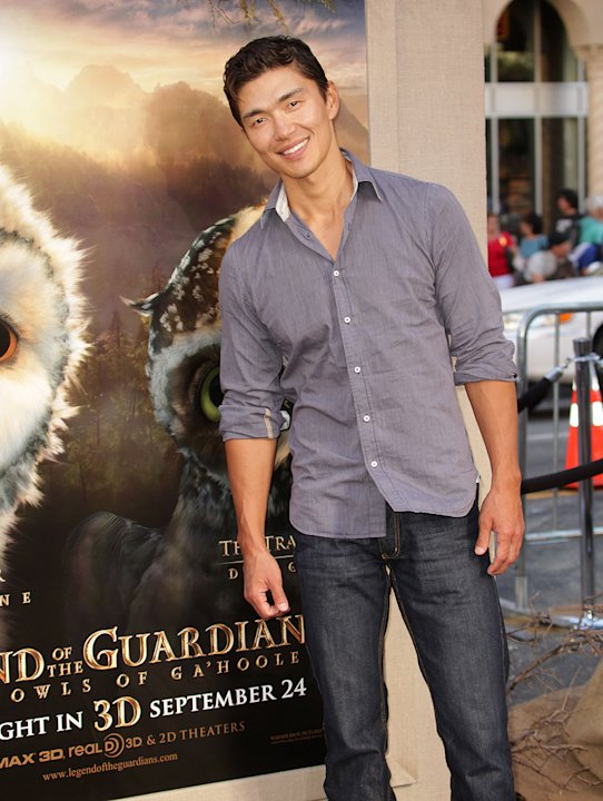 Legend of the Guardian LA Premiere 2010 Rick Yune