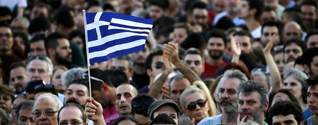 Greece opinion polls show 'no' vote in bailout