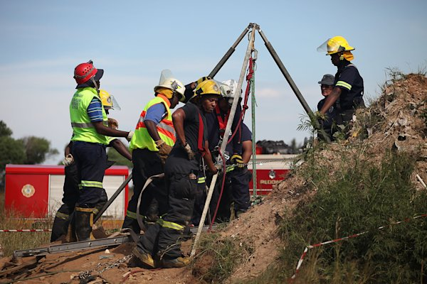 Illegal miners trapped in South Africa, 11 rescued
