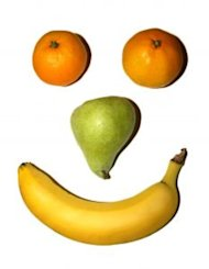 Fruit makes your face happy!