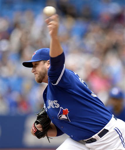 Davis, Blue Jays win in 18th inning, beat Texas