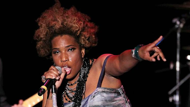 Macy Gray Greenhouse