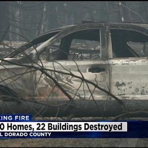Officials: 10 Homes Destroyed In King Fire