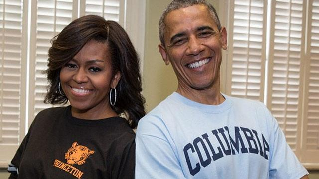 Michelle Obama on Sasha & Malia Growing Up: 'They're Conditioning Us for Empty Nest Syndrome'