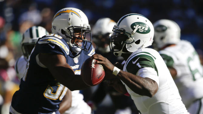 Rivers, Chargers race past hapless Jets, 31-0