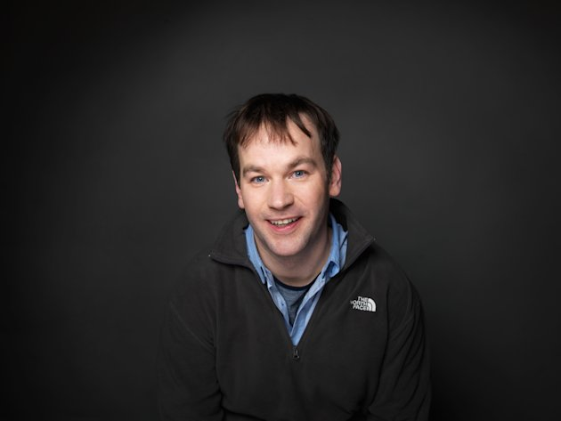 FILE - In this Jan. 23, 2012 file photo, director/actor Mike Birbiglia of the film &quot;Sleepwalk With Me,&quot; poses for a portrait during the 2012 Sundance Film Festival in Park City, Utah. (AP Photo/Victoria Will, File)