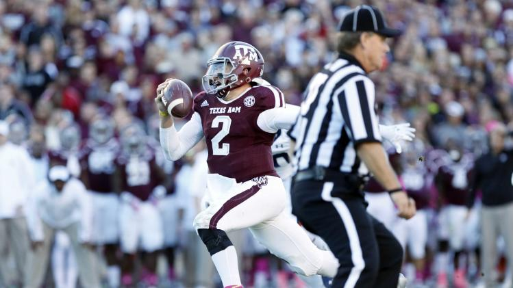 NCAA Football: Auburn at Texas A&M