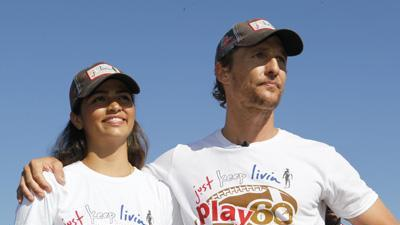 McConaughey Explains 'Just Keep Livin' Mantra