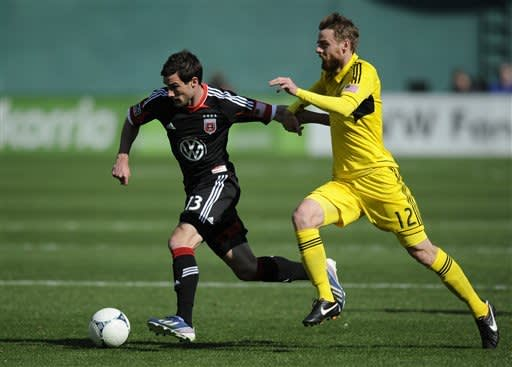 Speas pushes Crew to 2-1 victory at United