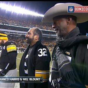 Pittsburgh Steelers homecoming on SNF