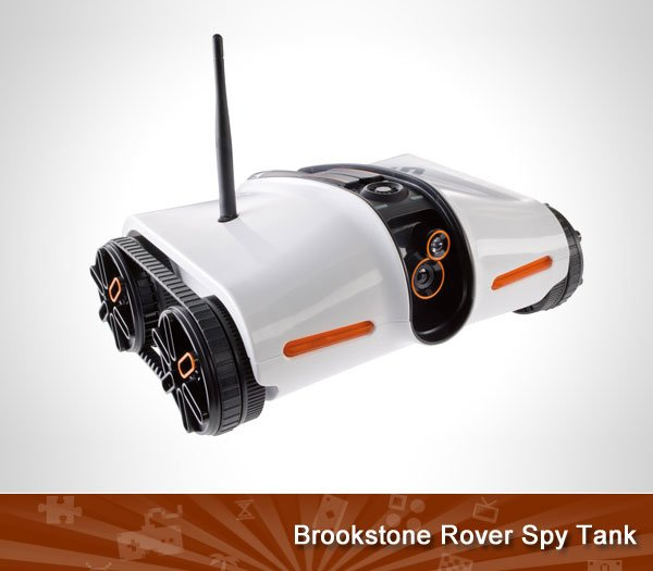 Brookstone Rover Spy Tank
