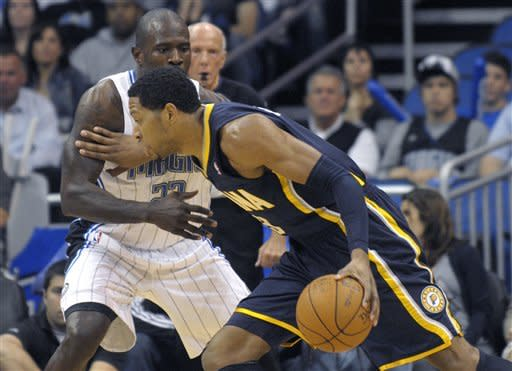 Granger's big night helps Pacers down Magic 106-85
