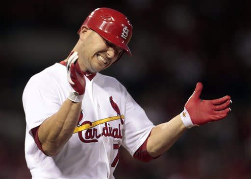 Cardinals beat Padres 4-3, end 4-game slump