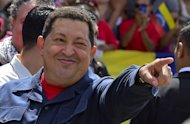 Venezuelan President Hugo Chavez, pictured before voting in Caracas, on October 7, 2012. Chavez was recovering after a successful cancer operation in Cuba, his vice president and chosen successor said