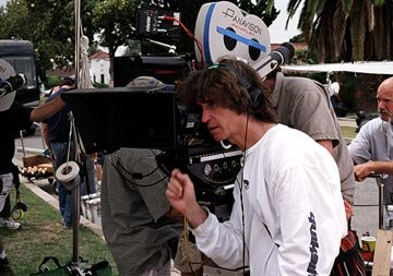 Director Jay Roach on the set of Universal Pictures' Meet the Fockers