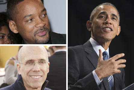 Will Smith & Alan Horn Join Obama & Katzenberg For Private L.A. Dinner – Update