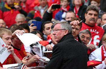 Manchester United 2-1 Swansea City: Late Rio Ferdinand winner a fitting sendoff for Ferguson