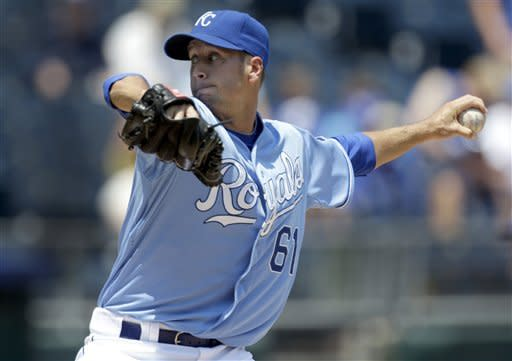 Royals hit three home runs, top Rays 5-4 for sweep