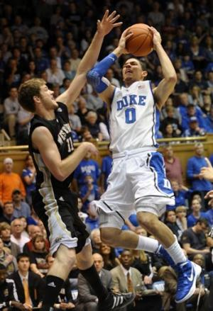 Curry, No. 7 Duke rout Western Michigan 110-70
