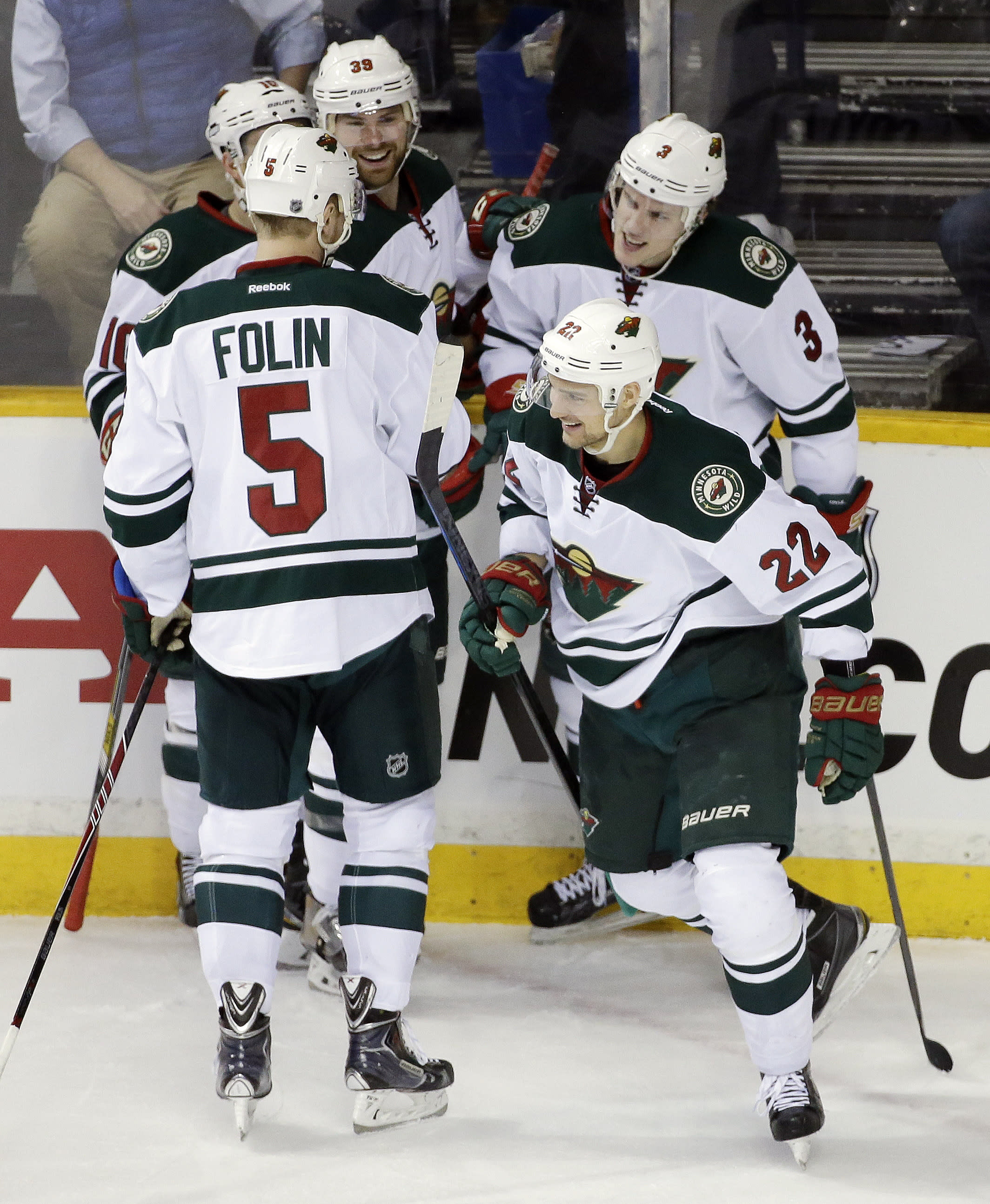 Dubnyk wins his 14th with Wild in 4-2 win over Nashville
