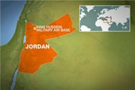 Syrian pilot defects after landing in Jordan